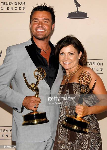 Michael Moloney and Tanya McQueen of Extreme Makeover Home Edition winner Outstanding Reality Program