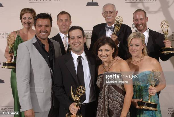 Michael Moloney Tanya McQueen and crew winners Outstanding Reality Program for Extreme Makeover Home Edition