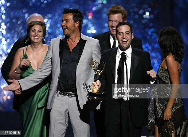 """Michael Moloney, Tanya McQueen and crew, winners Outstanding Reality Program for """"Extreme Makeover: Home Edition"""""""