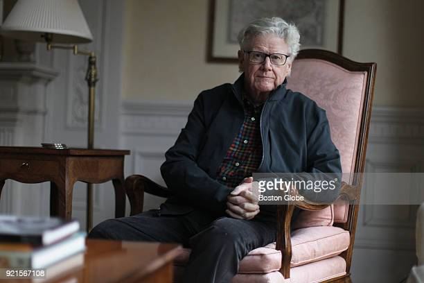 Michael Mone a leading medical malpractice lawyer in Boston poses for a portrait in Boston on Feb 9 2018 Mone says he has incurable cancer because it...