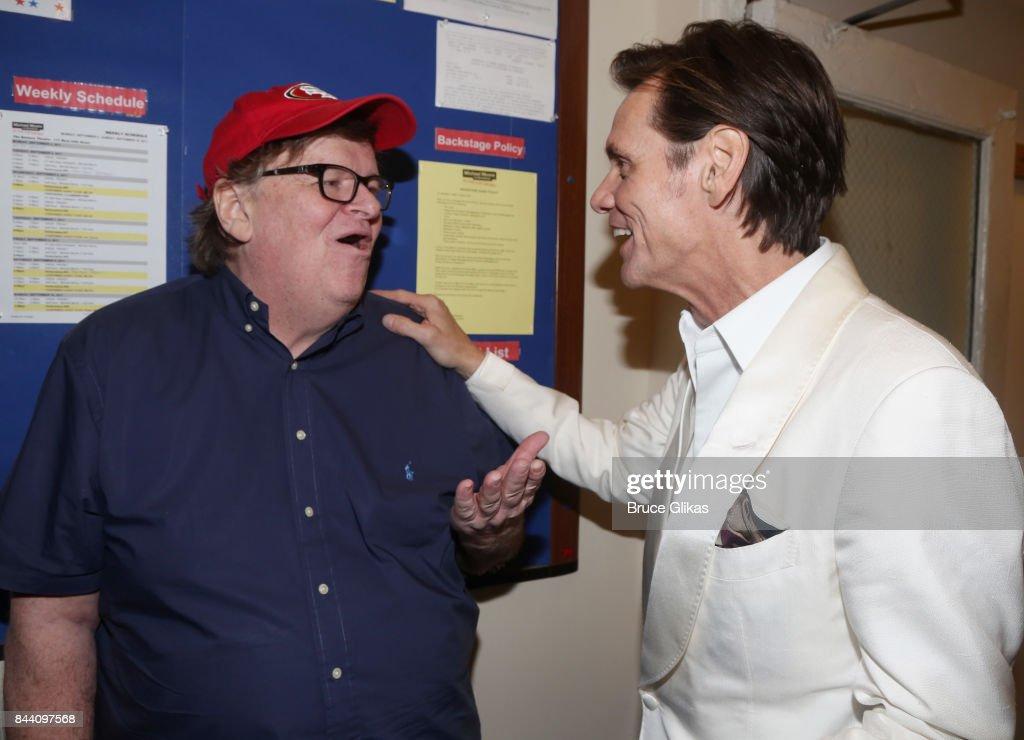 Celebrities Visit Broadway - September 7, 2017