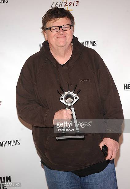 Michael Moore attends 6th Annual Cinema Eye Honors For Nonfiction Filmmaking at Museum of the Moving Image on January 9 2013 in New York City