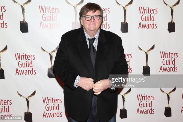 Michael Moore attends 71st Annual Writers Guild Awards New York Ceremony at Edison Ballroom on February 17 2019 in New York City