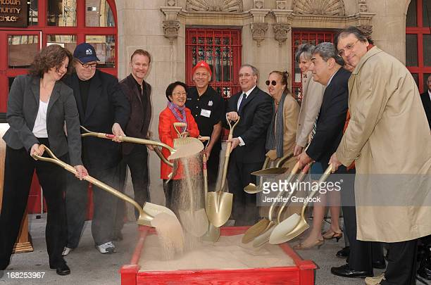 Michael Moore Morgan Spurlock NYC Council Member Margaret Chin Jon Alpert Scott Stringer Manhattan Borough President Gale Brewer New York City...