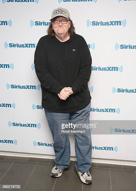 Michael Moore visits on May 10 2016 in New York New York