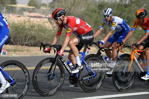Michael Morkov of Denmark and Team Deceuninck - Quick - Step / during the 6th UAE Tour 2020, Stage 1 a 148km stage from Dubai - The Pointe to Dubai -...