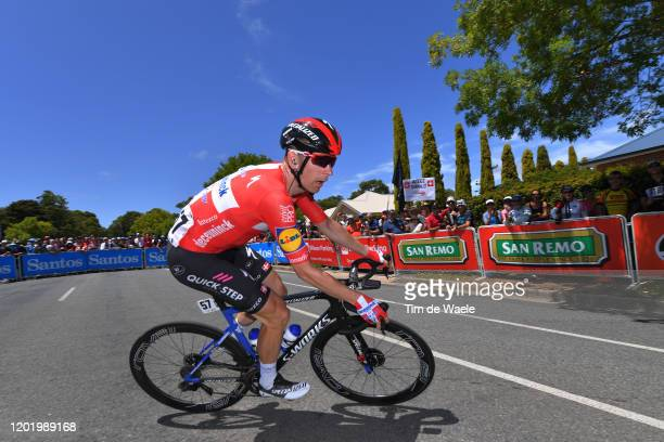 Michael Morkov of Denmark and Team Deceuninck - Quick-Step / during the 22nd Santos Tour Down Under 2020, Stage 6 a 151,5km stage from McLaren Vale...