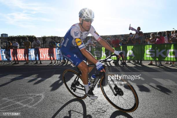 Michael Morkov of Denmark and Team Deceuninck - Quick-Step / during the 107th Tour de France 2020, Stage 14 a 194km stage from Clermont-Ferrand to...