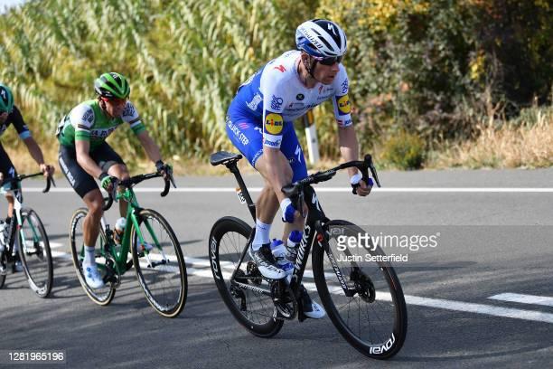 Michael Morkov of Denmark and Team Deceuninck - Quick-Step / during the 75th Tour of Spain 2020, Stage 5 a 184,4km Huesca to Sabiñánigo 835m /...