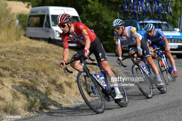 Michael Morkov of Denmark and Team Deceuninck - Quick-Step / Maximiliano Richeze of Argentina and Team Deceuninck - Quick-Step / during the 106th...