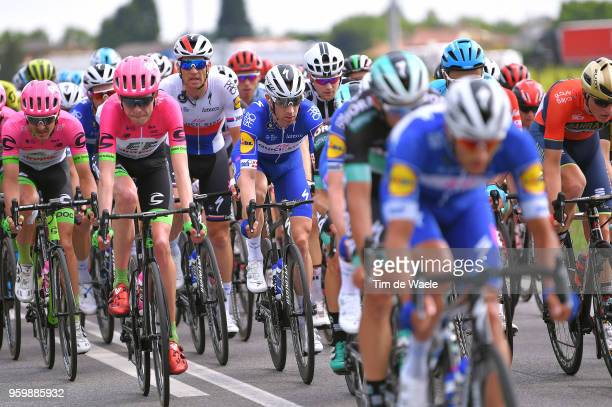 Michael Morkov of Denmark and Team QuickStep Floors / Zdenek Stybar of Czech Republic and Team QuickStep Floors / during the 101st Tour of Italy 2018...