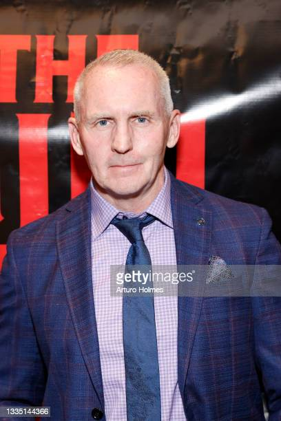 Michael Morrissey attends The Girl Who Got Away Film Premiere at AMC Theater on August 19, 2021 in New York City.