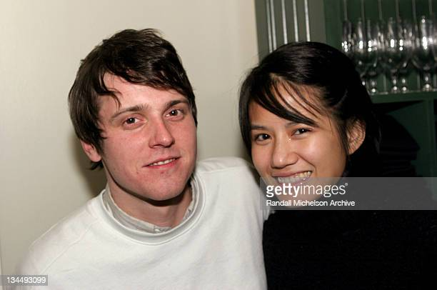 Michael Mosley and Sarah Yu during 2005 Park City 'Swimmers' Premiere Party at River Horse in Park City Utah United States