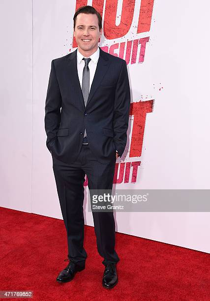 Michael Mosley arrives at the 'Hot Pursuit' Los Angeles Premiere at TCL Chinese Theatre IMAX on April 30 2015 in Hollywood California