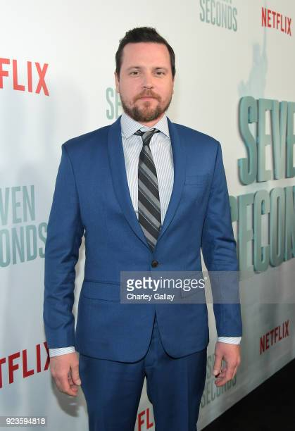 Michael Mosley attends Netflix's 'Seven Seconds' Premiere screening and postreception in Beverly Hills CA on February 23 2018 in Beverly Hills...