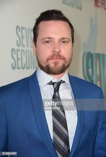 Michael Mosley attends the premiere of Netflix's 'Seven Seconds' at The Paley Center for Media on February 23 2018 in Beverly Hills California
