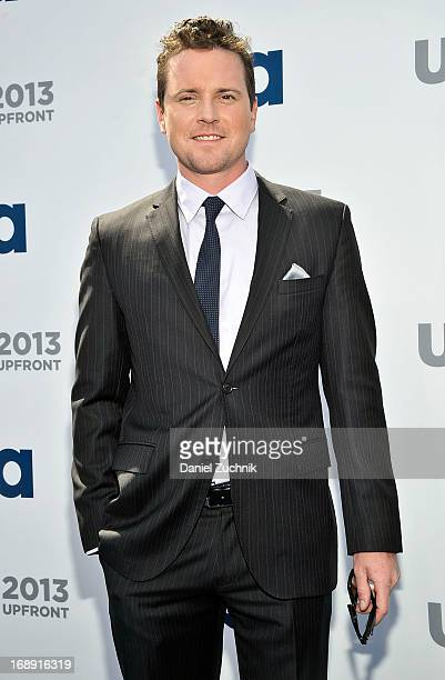 Michael Mosley attends the USA Network 2013 Upfront event at Pier 36 on May 16 2013 in New York City