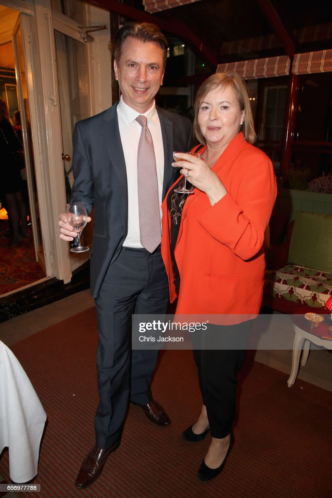 Michael Moszynsky attends the Glass Half Full party at Mark's Club on March 23, 2017 in London, United Kingdom.