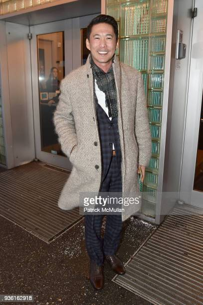 Michael Moy attends the Stephen Petronio Company 2018 Gala honoring Patricia Field and Sylvia Drulie Mazzola at the Joyce Theater on March 21 2018 in...