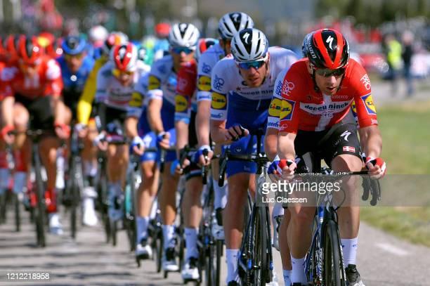Michael Mørkøv of Denmark and Team Deceuninck - Quick-Step / Tim Declercq of Belgium and Team Deceuninck - Quick-Step / Peloton / during the 78th...