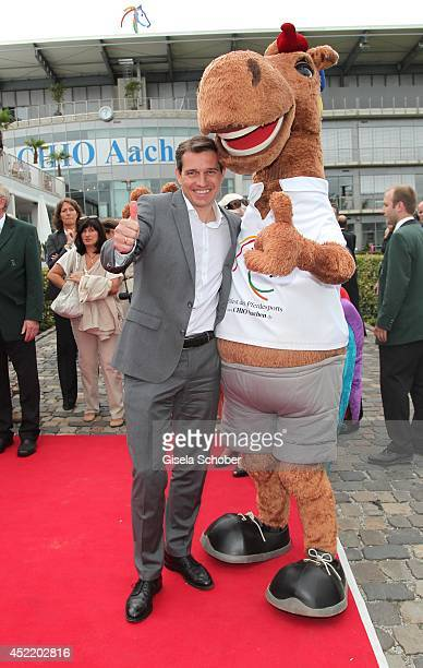 Michael Mronz attends the CHIO 2014 media night on July 15 2014 in Aachen Germany