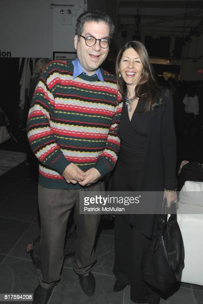 Michael Musto and Sally Randall Brunger attend 8TH ANNUAL BoCONCEPT/KOLDESIGN HOLIDAY PARTY at BoConcept on December 14 2010 in New York City