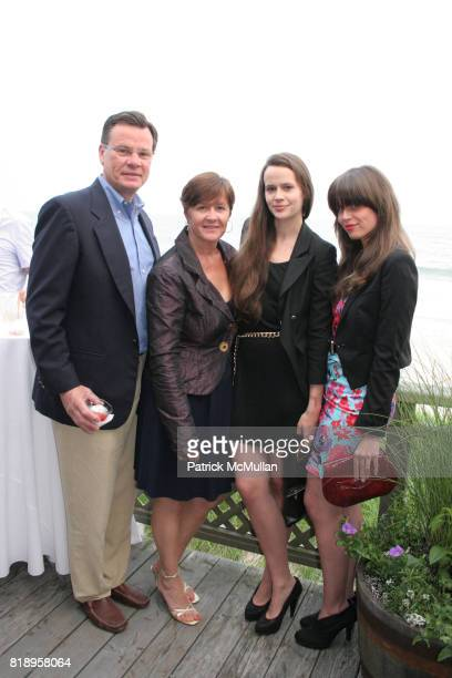 Michael Nadeau Paula Nadeau Nicole Nadeau and Coryn Nadeau attend MIRACLE HOUSE 20th Anniversary Memorial Day Summer Kickoff Benefit honoring Amy...