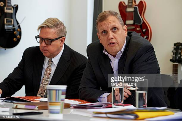 Michael Nash Executive Vice President of Digital Strategy Universal Music Group and Stu Bergen CEO International and Global Commercial Services...