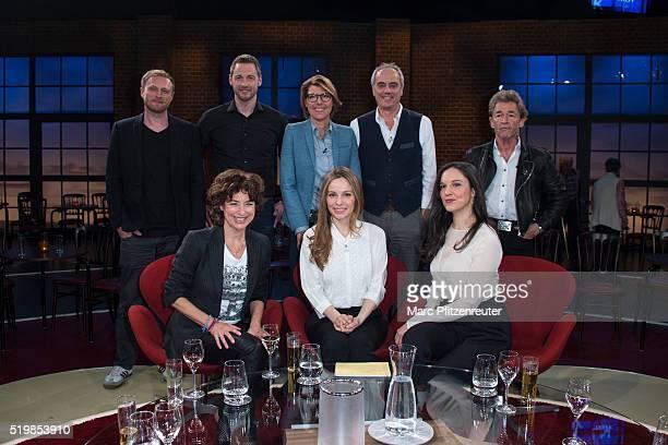 Michael Nast Dieter Koennes Bettina Boettinger Christian Rach Peter Maffay Isabell Varell Mina Tander and Simin Tander attend the 'Koelner Treff' TV...
