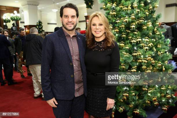 Michael Nathanson and Marlo Thomas attend as Brooks Brothers celebrates the holidays with St Jude Children's Research Hospital on December 12 2017 in...