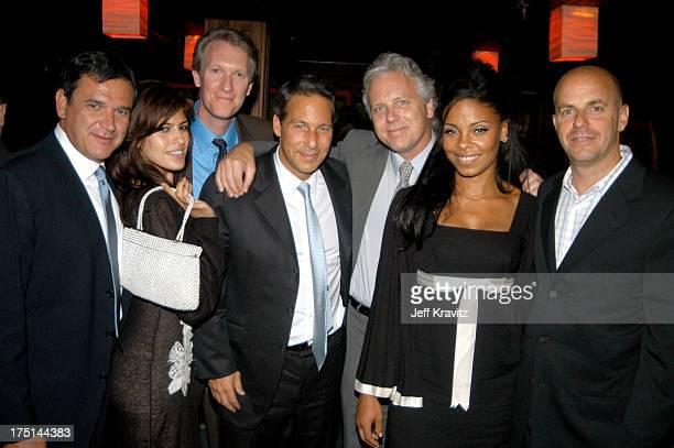 Michael Nathanson, Eva Mendes, Chris McGurk, MGM Boardmember Henry Winterstern, President of Worldwide Marketing Peter Addee, Sanaa Lathan and Neal...