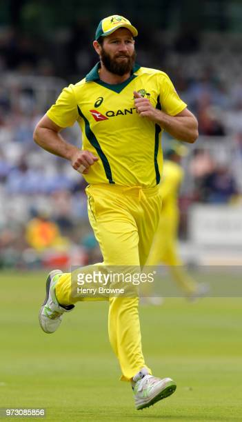 Michael Neser of Australia during the One Day Tour match between Middlesex and Australia at Lord's Cricket Ground on June 9 2018 in London England
