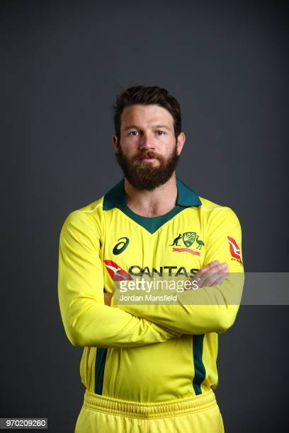 Michael Neser of Australia poses for a portrait at Lord's Cricket Ground on June 8 2018 in London England