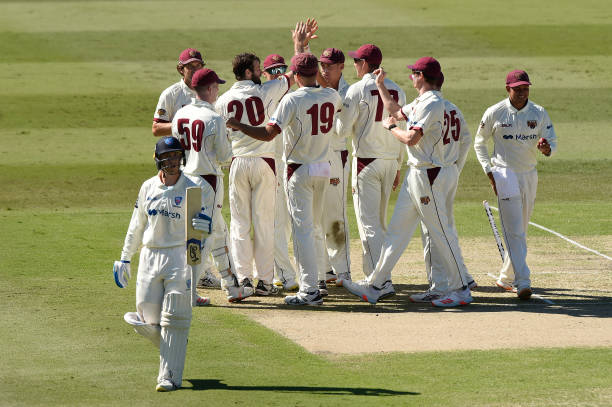 AUS: 2021 Sheffield Shield Final - QLD v NSW: Day 1