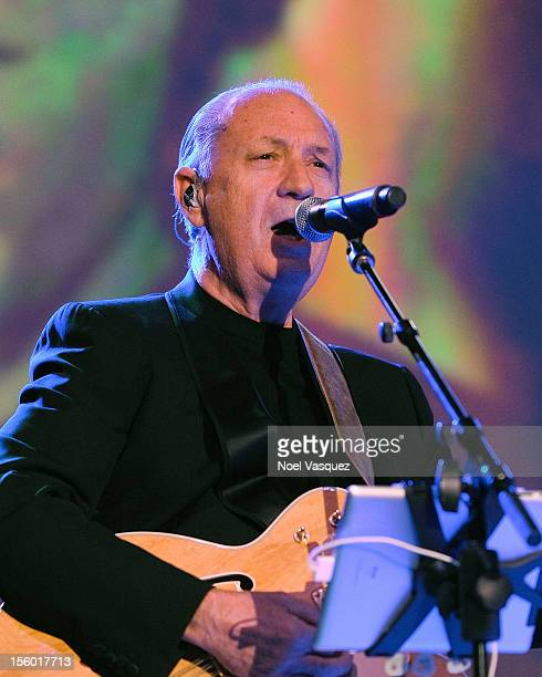 Michael Nesmith of The Monkees performs at The Greek Theatre on November 10 2012 in Los Angeles California
