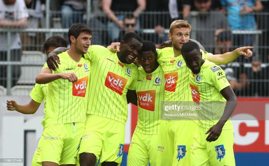 Sporting Charleroi v KAA Gent - Jupiler Pro League : News Photo