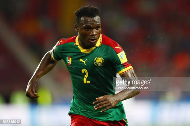 Michael NgadeuNgadjui of ameroon looks on during the FIFA Confederations Cup Russia 2017 Group B match between Cameroon and Chile at Spartak Stadium...
