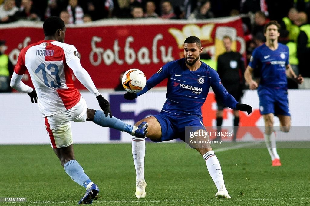 Slavia Prague v Chelsea - UEFA Europa League : News Photo
