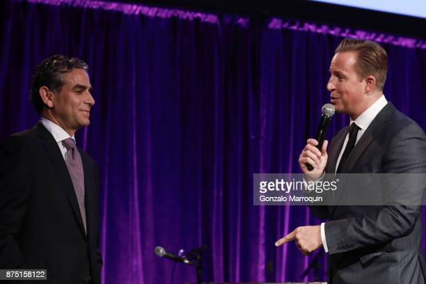 Michael Nierenberg and Chris Wragge during the Samuel Waxman Cancer Research Foundation's COLLABORATING FOR A CURE 20th Anniversary Gala on November...
