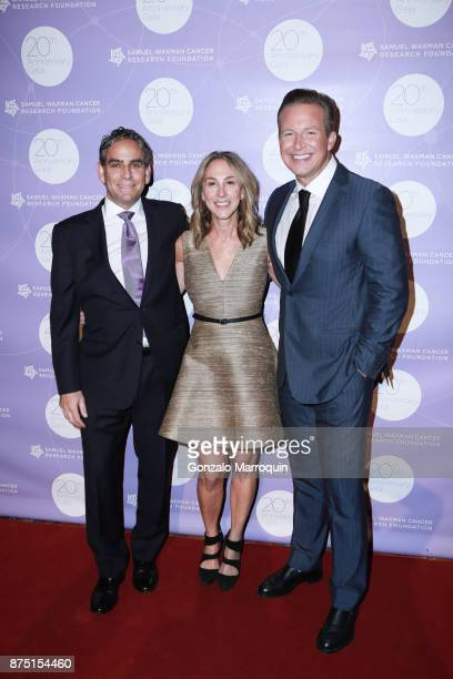 Michael Nierenberg Elin Nierenberg and Chris Wragge during the Samuel Waxman Cancer Research Foundation's COLLABORATING FOR A CURE 20th Anniversary...