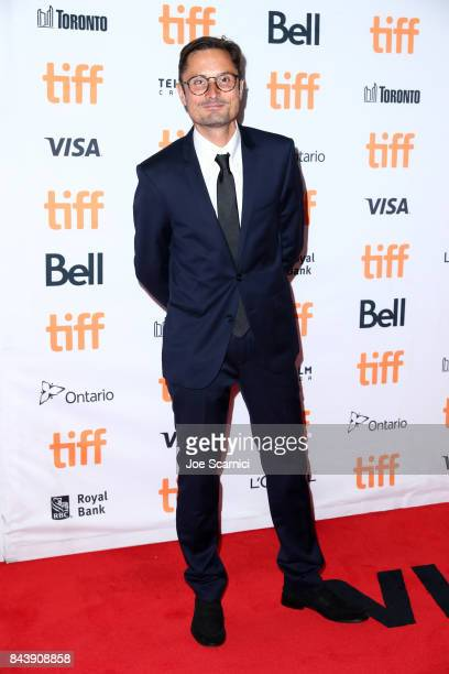 Michael Noer attends the 'Papillon' premiere during the 2017 Toronto International Film Festival at Princess of Wales Theatre on September 7 2017 in...