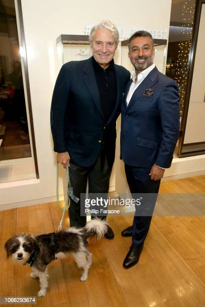 Michael Nouri and Ahmad Shahriar President of Breguet North America attend Breguet and The Hollywood Reporter Celebrate the BE CRAZY High Jewelry...