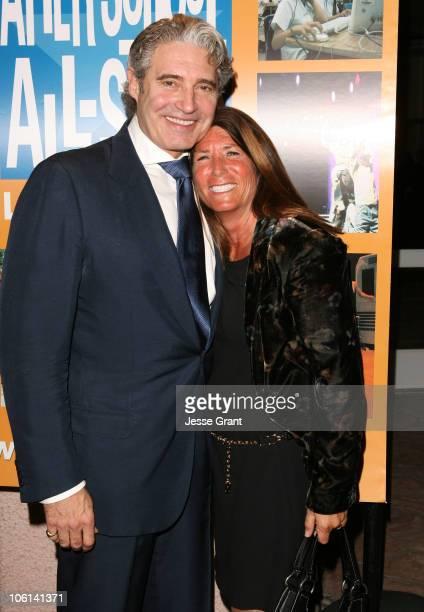 Michael Nouri and Bonnie Reiss senior advisor to Governor Schwarzenegger