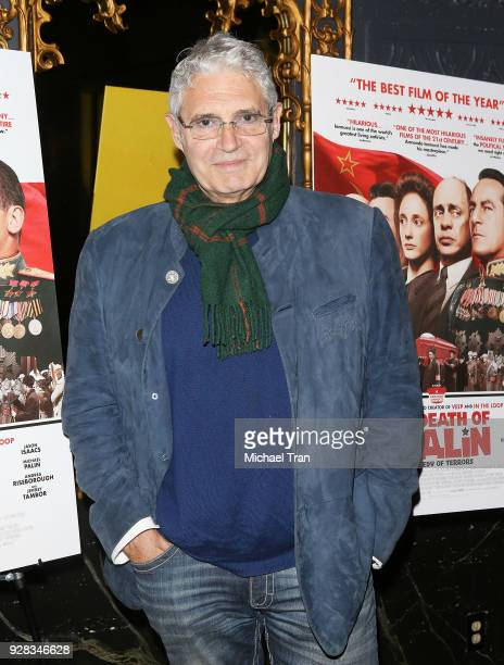 Michael Nouri arrives to the Los Angeles premiere of IFC Films' 'The Death Of Stalin' held at The Theatre at Ace Hotel on March 6 2018 in Los Angeles...