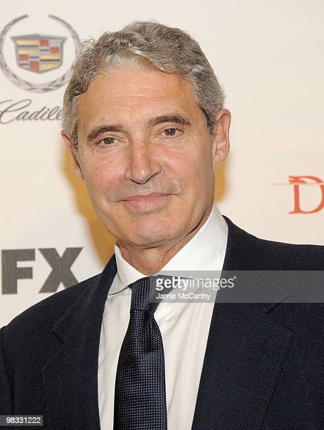 Michael Nouri attends the Damages season three premiere at the AXA Equitable Center on January 19 2010 in New York City