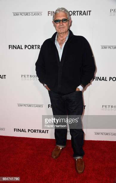 Michael Nouri attends the premiere of Sony Pictures Classics' 'Final Portrait' at Pacific Design Center on March 19 2018 in West Hollywood California