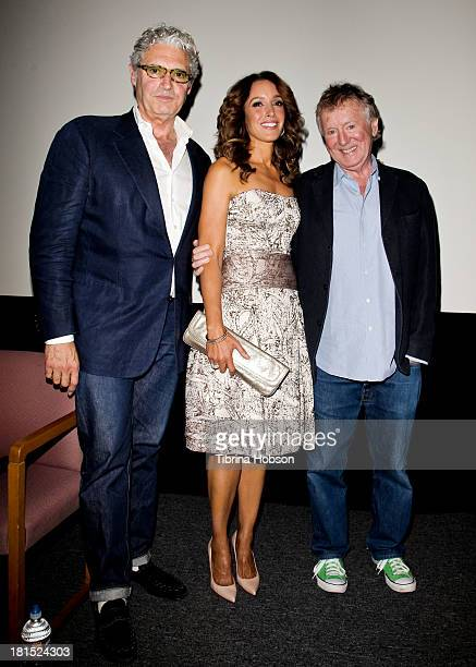 Michael Nouri Jennifer Beals and Adrian Lyne attend the American Cinematheque's 30th Anniversay Screening of 'Flashdance' at Aero Theatre on...