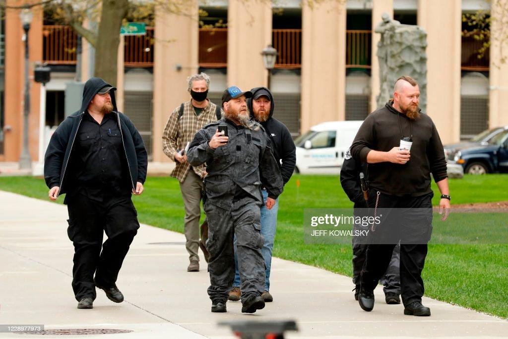 US-CRIME-MICHIGAN-GOVERNOR-POLITICS : News Photo
