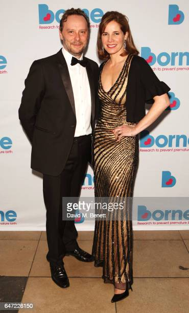 Michael Nunn and Darcey Bussell attend the launch of Borne To Dance at Banqueting House on March 2 2017 in London England