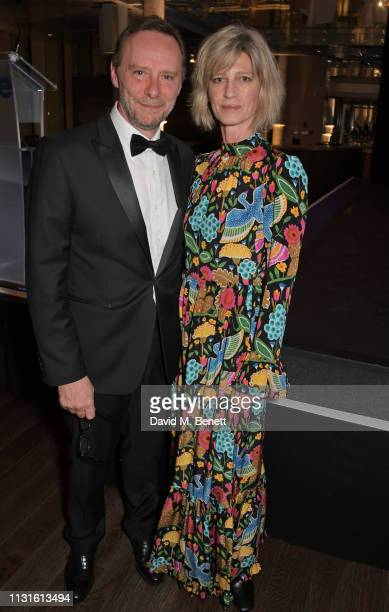 """Michael Nunn and Nicola Formby attend """"Borne To Dance"""", a special charity performance in aid of Borne, at Paul Hamlyn Hall, The Royal Opera House on..."""